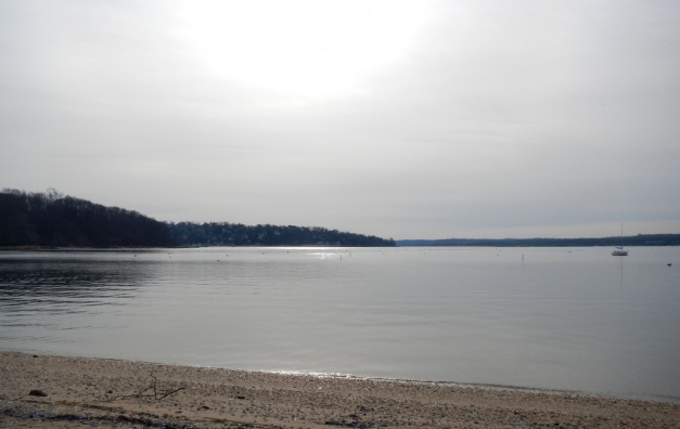 Winter afternoon at Glen Cove