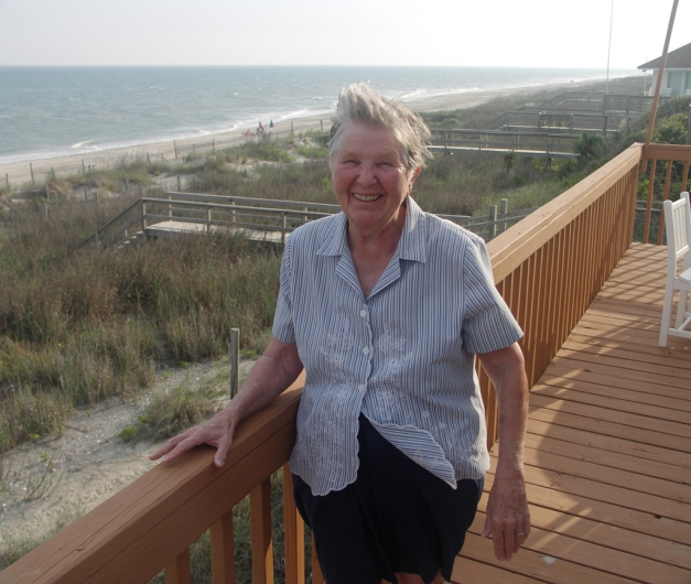 Jean's mom, several years later. Swansboro, NC