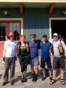 Five of the Kayakers Alliance of Larchmont and Mamaroneck