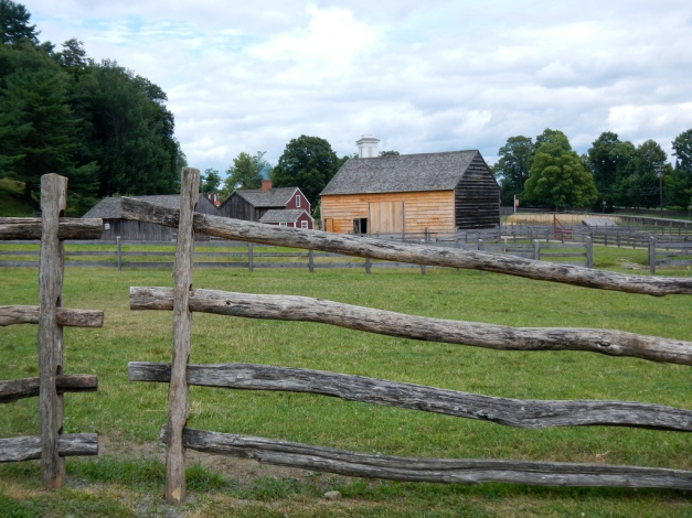 A 19th-century working farmstead at The Farmers' Musuem
