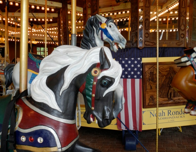 "Horses of the Empire State Carousel, aka, ""the museum you can ride!"""