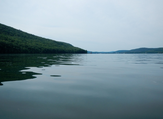 "Otsego Lake was called ""glimmerglass"" by James Fenimore Cooper because the surface reflects the surroundings like a mirror."