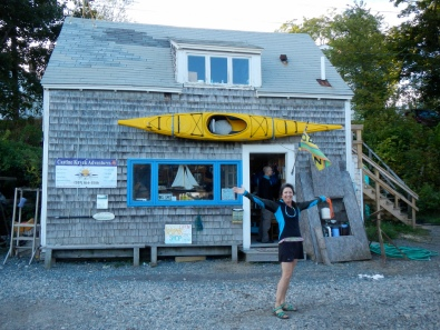 Karen of Castine Kayak