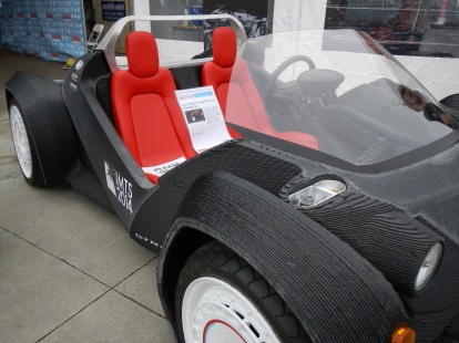A 3D-printed car!