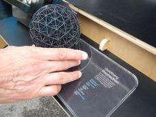 3D-printed polyhedron
