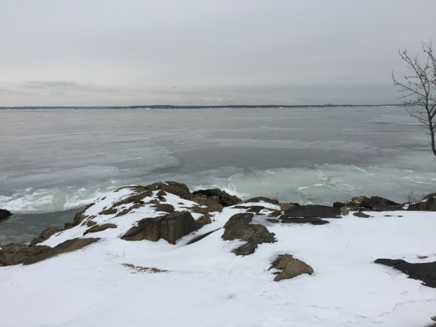 Searching for signs of liquid water on Long Island Sound