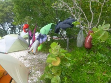 35-mph clothes dryer: Bahia Honda