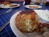 Crab cake at Hilda Crockett's Chesapeake House