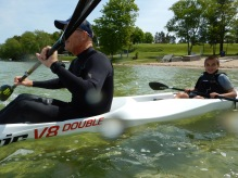 """Marcus the """"paddle on the water"""" cop"""